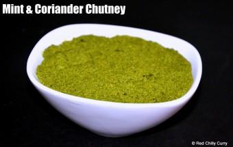 mint,coriander thovayal