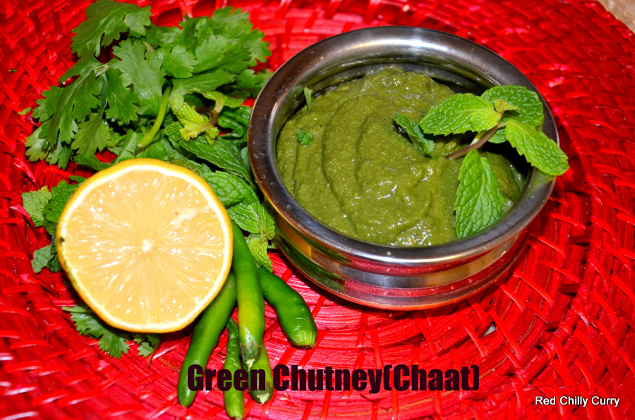green chutney for samosa  Samosa