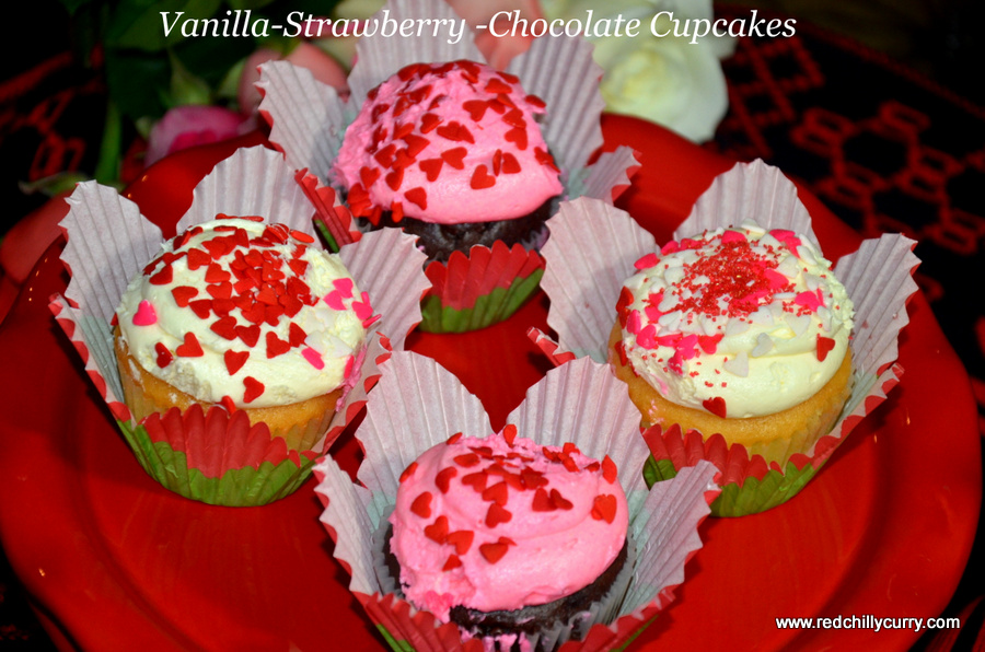 cupcake,eggless cucake,vegan cucake,how to make cupcake,chocolate cupcake,strawberry cupcake,vanilla cup cake,vanilla frosting,strawberry frosting