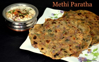 methi paratha