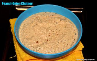 peanut-onion chutney