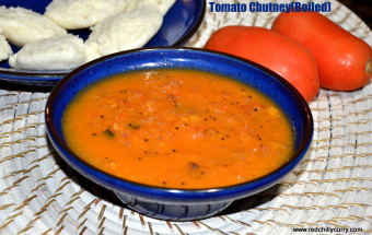 tomato chutney boiled