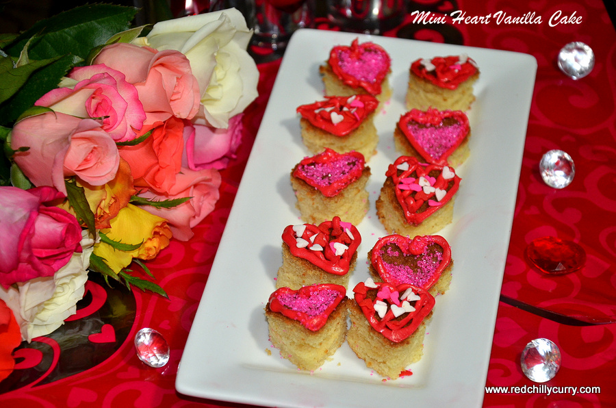 valentine day recipes,valentine,lovers day special,eggless vanilla cake,valentine recipe