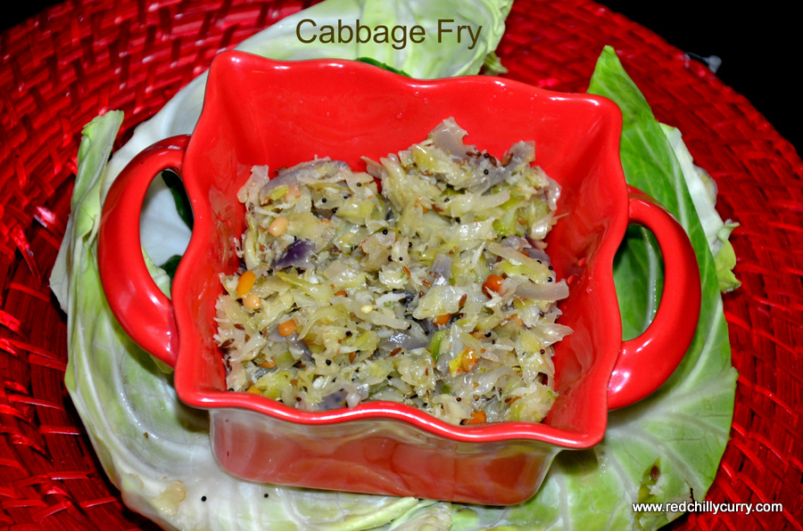cabbage fry,south indian fry,easy south indian recipes,cabbage recipes,tamil nadu fry,bachleor recipes