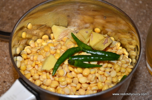 Dhokar Dalna- Bengali Lentil Curyy(SNC challenge)