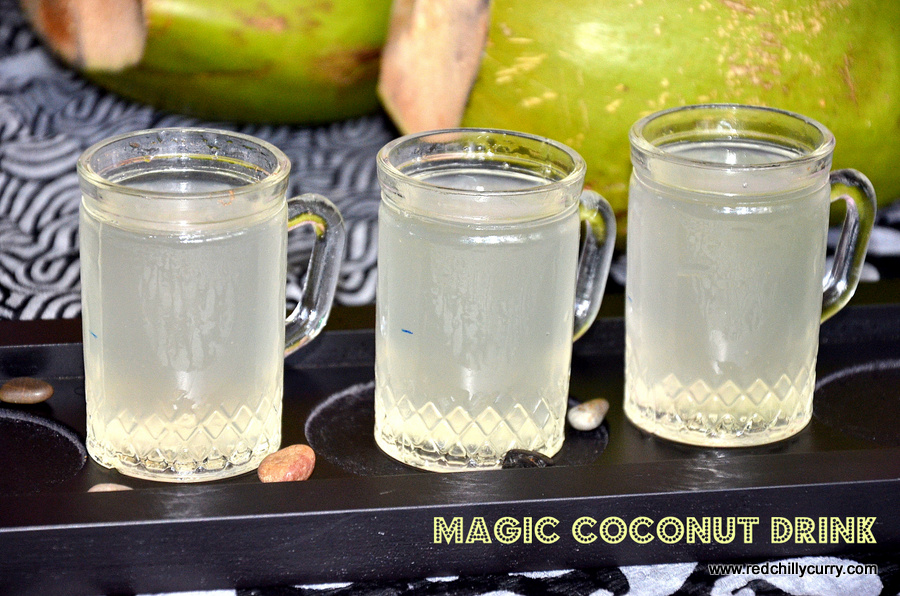 Magical Tender Coconut Drink