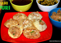 Pani Puri-(Indian street food/ Chaat)