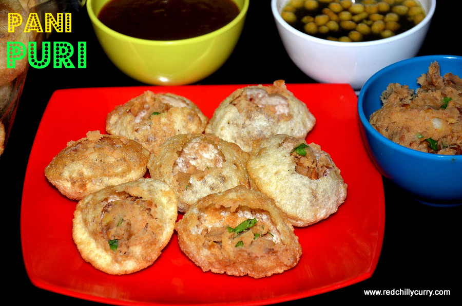 how to make pani puri ki puri at home