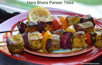 hara bhara paneer