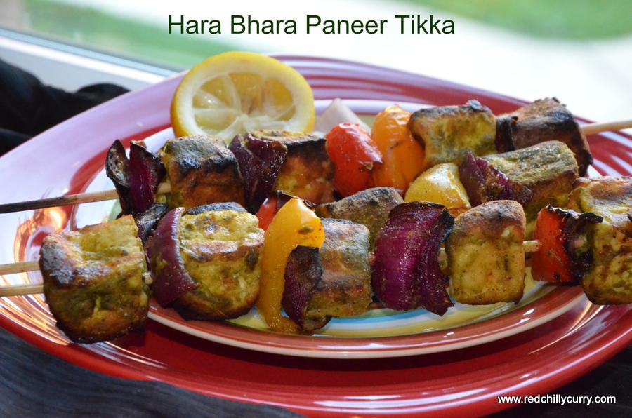 hara bhara paneer tikka,hara bhara kabab,hara bhara paneer kabab,hara bhara tandoori recipe,tandoori recipe,punjabi recipes,paneer recipes
