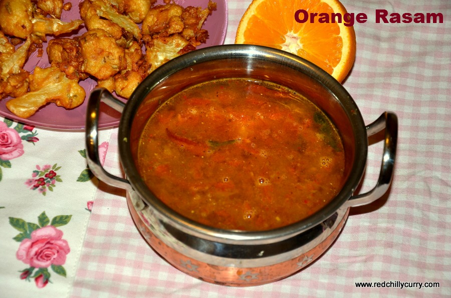 orange rasam,how to make orange rasam,rasam,rasam variety,types of rasam,south indian rasam