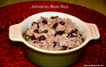 jamaican bean rice