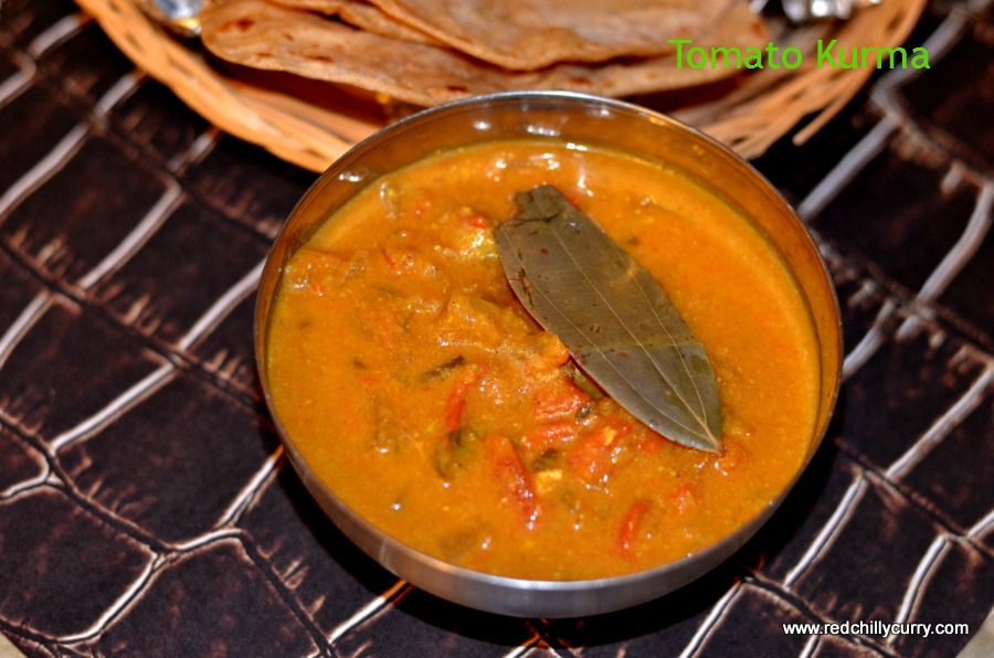 tomato kurma,thakkali kurma,tomato korma,tomato khurma,side dish for chapathi,side dish for idiyappam,breakfast recipes,north indian recipe,vegetarian kurma,restaurant tomato kurma