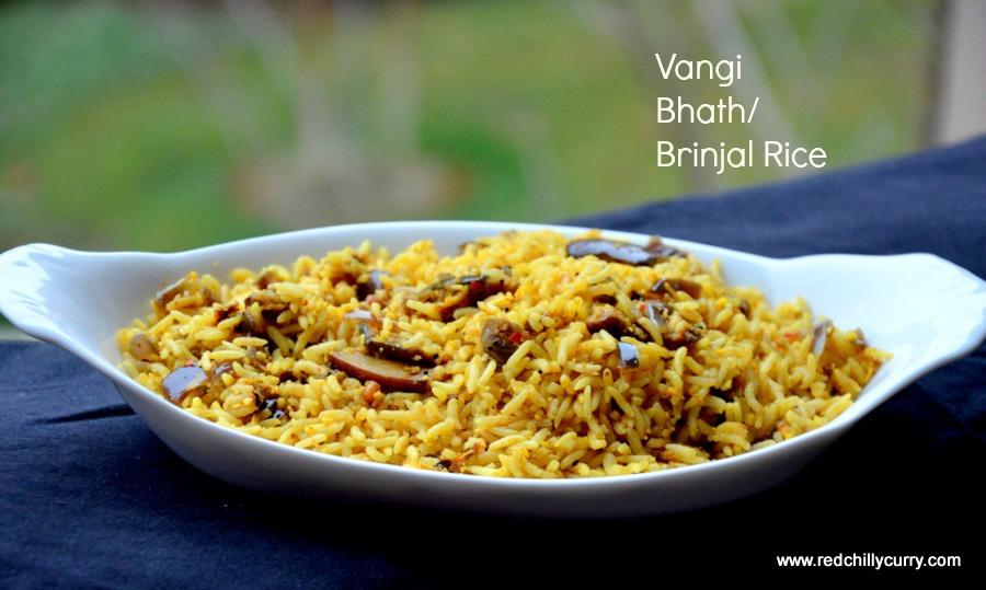 vaangi bhath,vangibath,vangi baat,karnataka vangi bhath,brinjal rice,lunch box recipes,kids recipe,rice variety,easy rice variety,aunthetic karnataka recipes,kannada recipes,karnataka recipes,vaangi bhath,brinjal recipes,eggplant recipes,south indian rice variety,party recipes