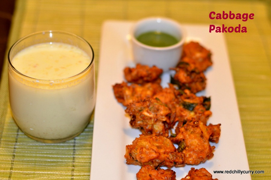 cabbage pakoda,cabbage pakora,cabbage bajji,tea time snack,snack recipe,cabbage recipe,south indian snack,indian snack,party snack