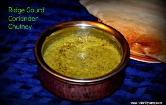 ridegourd coriander