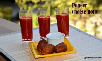 paneer cheese roll