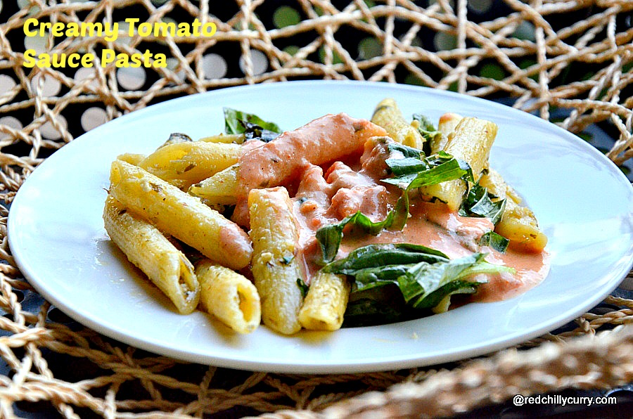 italian pasta,pasta with tomato creamy sauce,pasta with creamy tomato sauce,creamy pasta,creamy tomato pasta,white sauce,easy pasta recipes,kids recipes,pasta recipes,restaurant style pasta,restaurant style creamy pasta,basil pesto sauce,basic white sauce,pasta recipes,healthy pasta recipes,creamy pasta