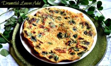 drumstick leaves adai