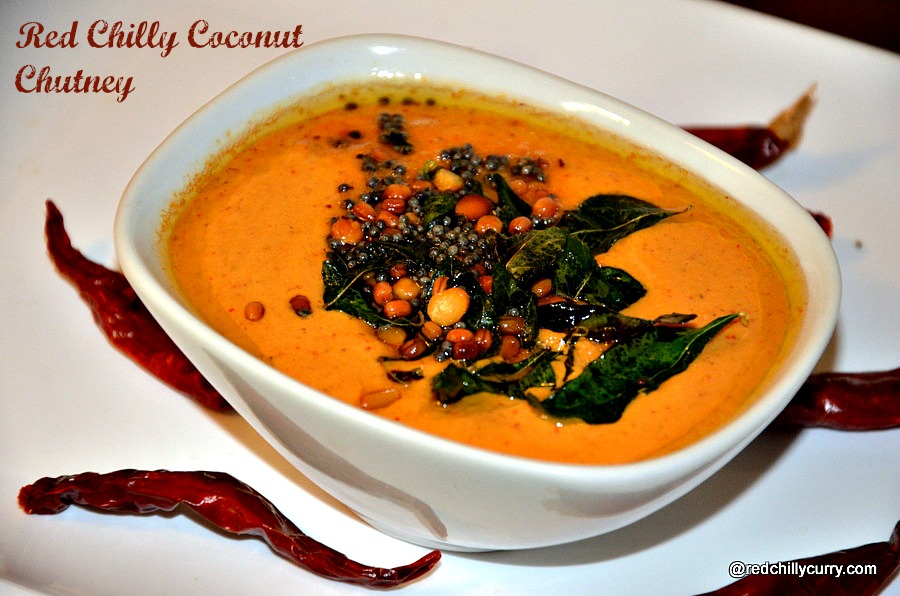coconut chutney,red chilly coconut chutney,red chillies coconut chutney,coconut chutney recipes,chutney variety,dosa side dish,south indian chutney recipes,south indian chutney,coconut based chutney,easy chutney,quick breakfast chutney