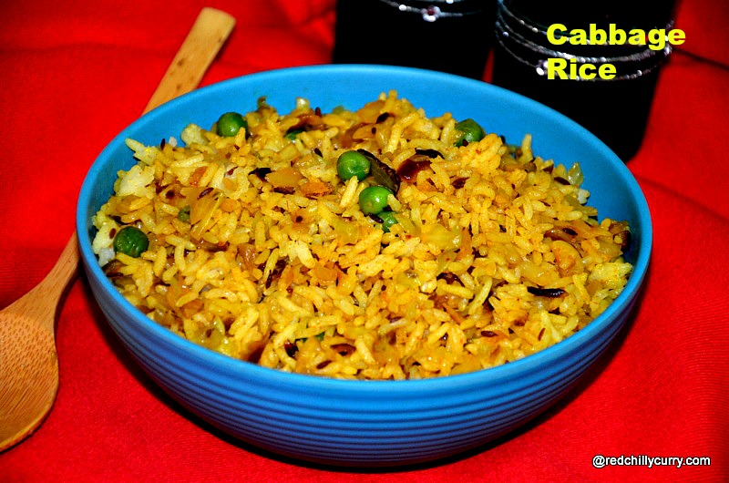 cabbage rice,rice variety,rice varities,south indian rice variety,lunch box recipes,lunch box ideas,quick rice variety,easy rice variety,15 mins rice variety,15 recipes