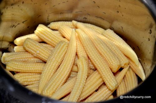 baby corn bajji