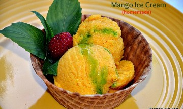 mango icecream