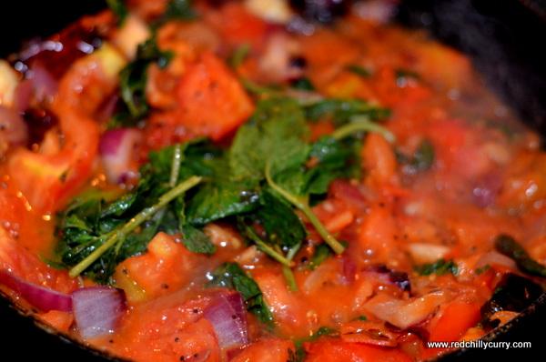 pudina tomato chutney