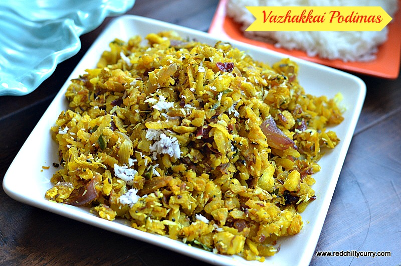 vazhakkai podimas,how to make podimas,how to cook valakkai,valakkai podimas,valakka fry,side dish for sambar,rasam,south indian side dish,easy poriyal,chettinad podimas,valakka roast,vazhakkai fry,raw banana fry,raw banana podimas,raw valakai fry