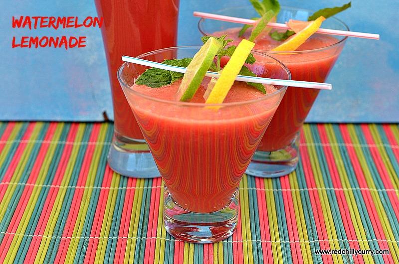 watermelon lemonade, watermelon recipe,summer drink,weight loss drink, lemonade recipe,party drik,bevarages,juice,watermelon juice