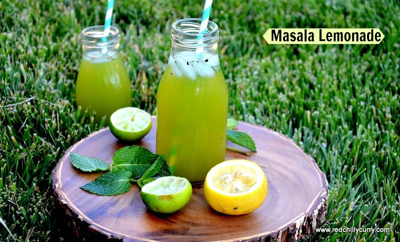 Masala lemonade,how to make masala lemonade,lemonade recipes,shikanji, nimbu pani, how to make lemon juice, summer drinks, healthy drink