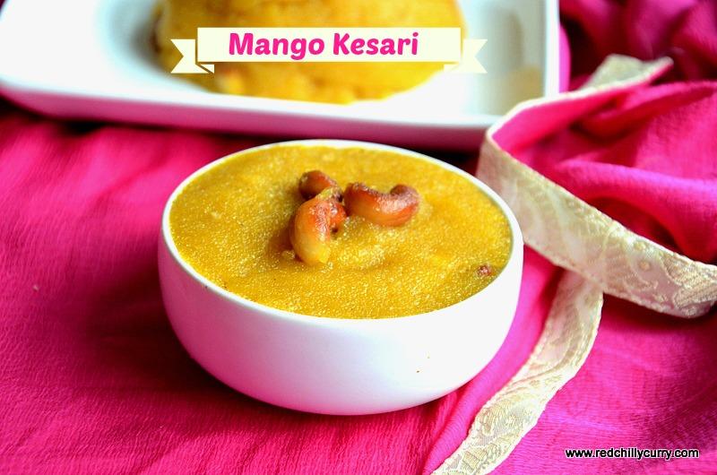 mango kesari recipe, mango kesari, mango sheera, mango sweet recipe,how to make mango kesari, how to make mango sheera, indian sweets, kesari varities